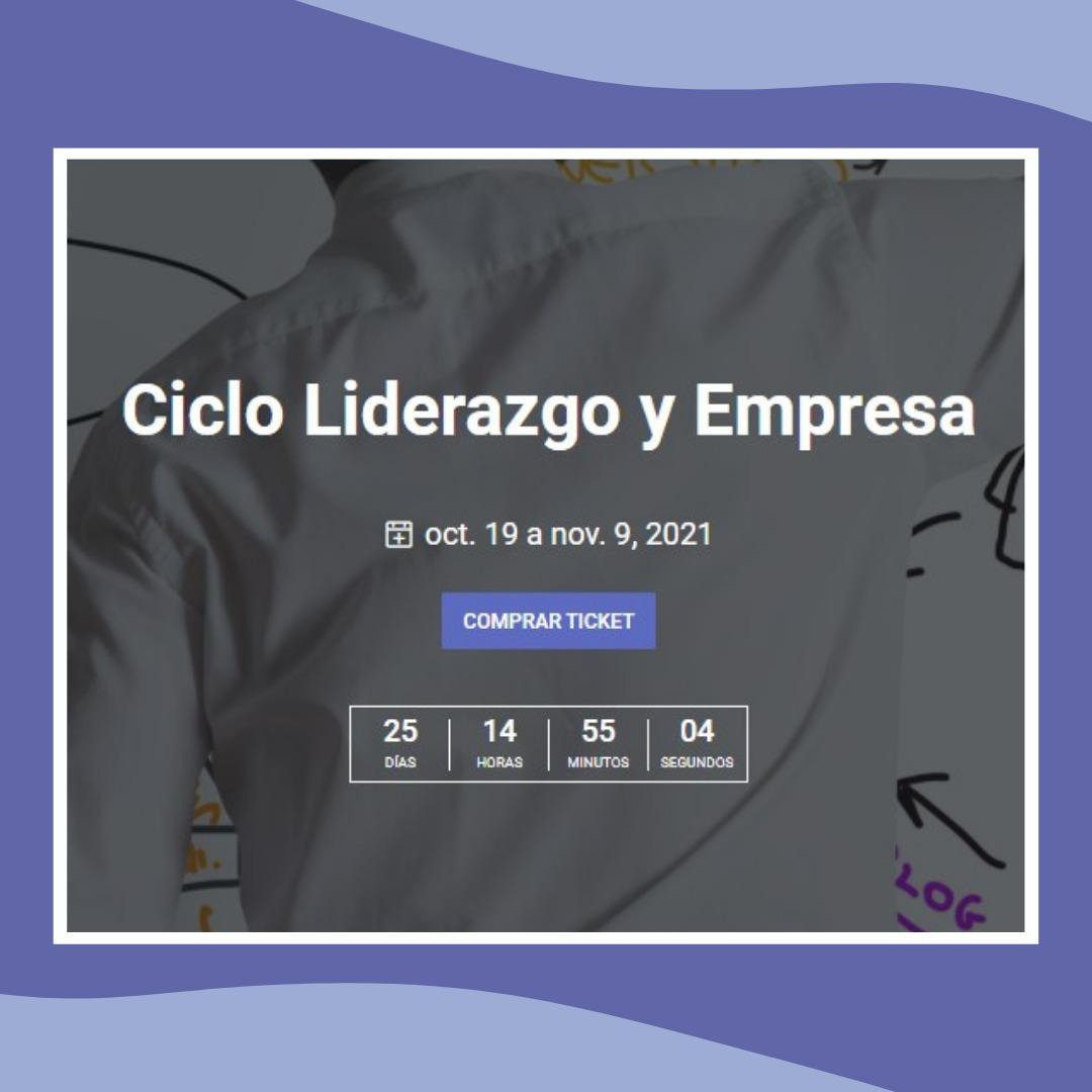 CICLO LIDERAZGO Y EMPRESA. Webinars